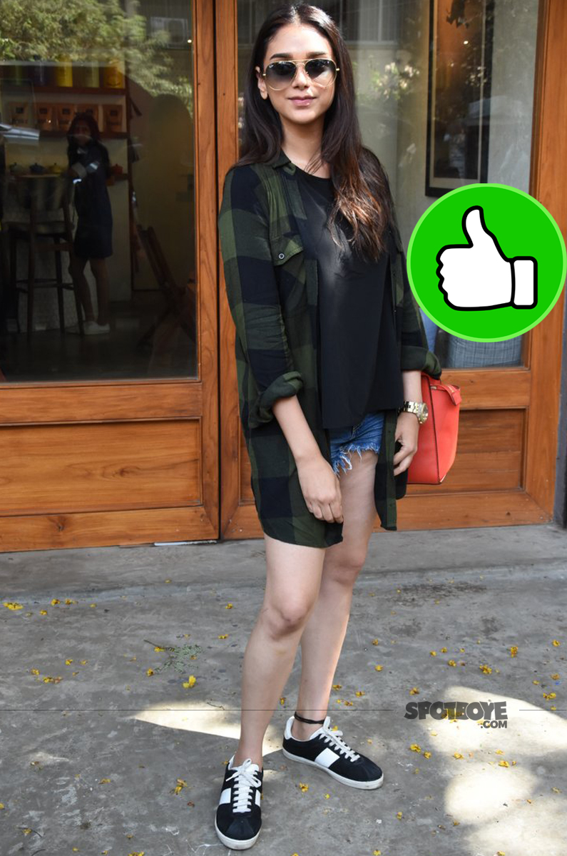 aditi rao hydari snapped post lunch in bandra