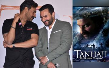 Tanhaji Trailer Launch: Saif Says, 'Took 25 Takes For Perfection,' Ajay Devgn Interrupts, 'Inko Apna Perfection Chahiye Tha, Film Mein Gaya Pehla Take Hi Hai'