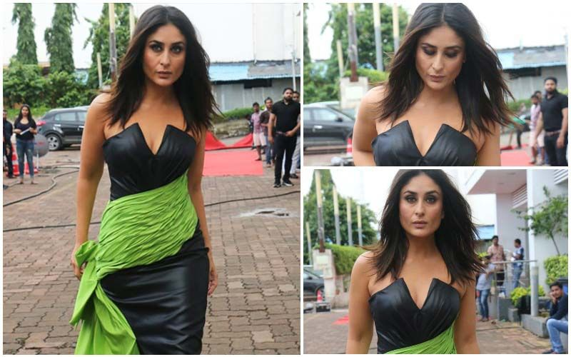 FASHION CULPRIT OF THE DAY: Kareena Kapoor Khan, The Green Leafy Drape Should Be In A Salad, Not On Your Otherwise Sexy Outfit!