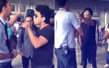 WATCH: Aditya Narayan Goes Ballistic At Raipur Airport, Threatens Airline Staff