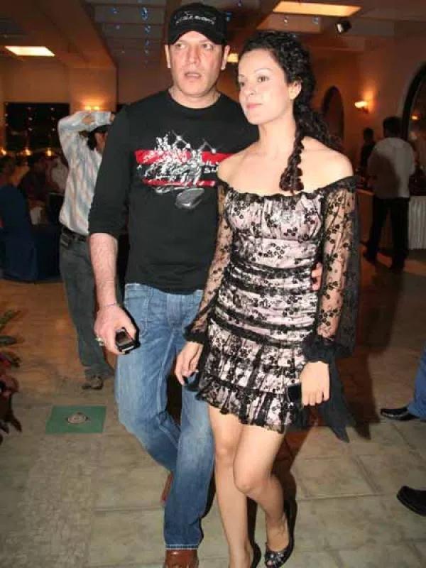 aditya pancholi and kangana ranaut in happier times