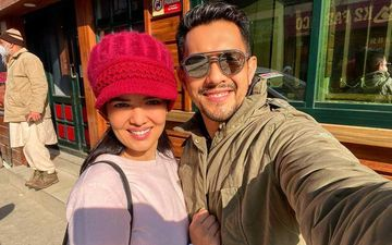 Aditya Narayan Dashes Off To Kashmir With Wife Shweta Agarwal For Their Honeymoon; Shares A Cosy Picture From Snow Clad Mountain