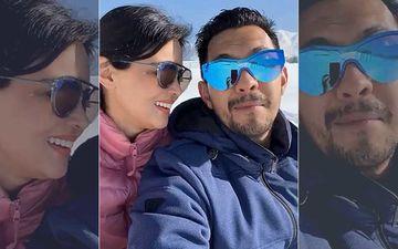 Aditya Narayan's Wife Shweta Agarwal Along With In-Laws Udit Narayan And Deepa Grace Indian Idol 12
