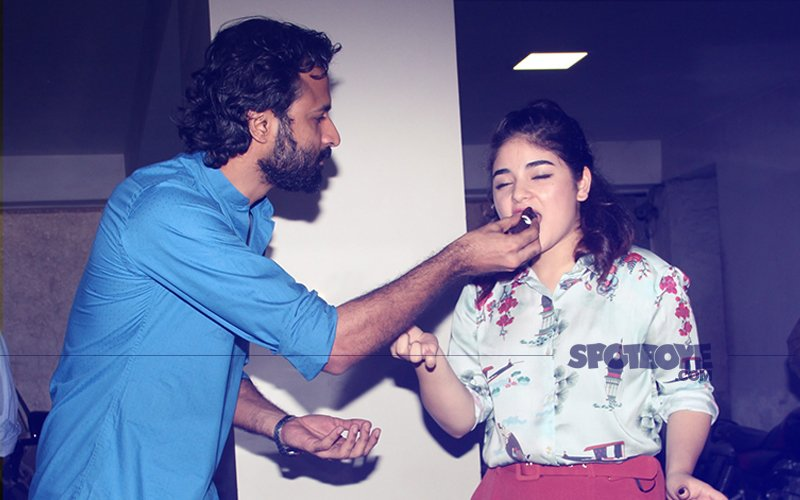 Secret Superstar & Dangal Actress Zaira Wasim Celebrates 17th Birthday With Media