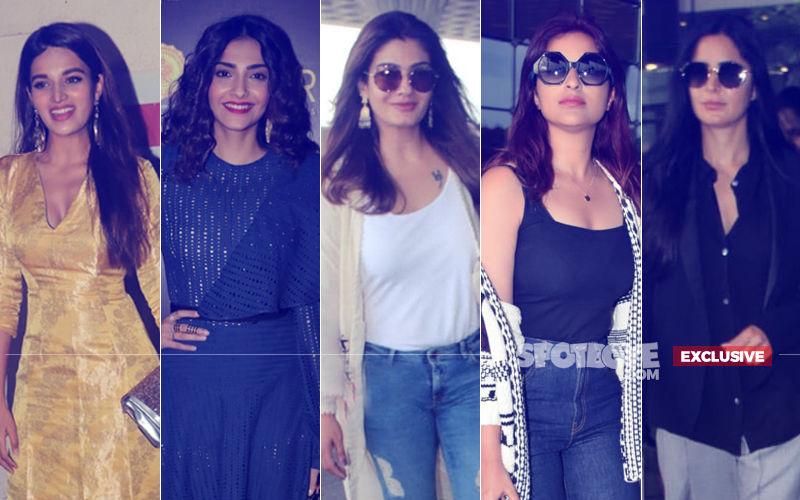 STUNNER OR BUMMER: Nidhhi Agerwal, Sonam Kapoor, Raveena Tandon, Parineeti Chopra Or Katrina Kaif?