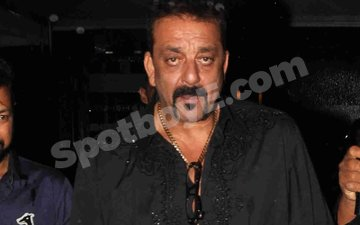 Sanju wraps up his birthday evening with a quite dinner with family