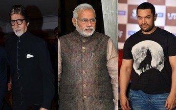 Big fire at Modi's Make in India event