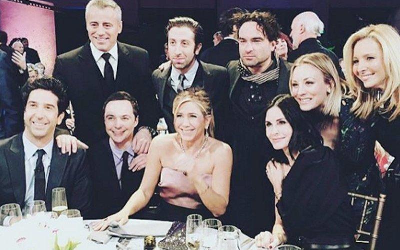 When Big Bang Theory met F.R.I.E.N.D.S