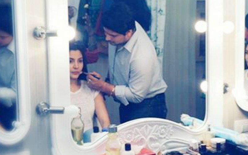 Anushka Sharma kicks off on Sultan