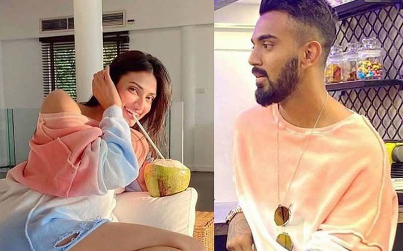 Athiya Shetty Wears KL Rahul's Clothes AGAIN; After Sporting A Shirt Belonging To The Cricketer, Ms Shetty Slips Into His Sweatshirt?