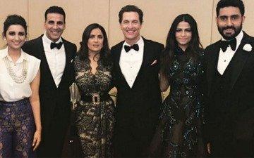 Sexiness in one frame: Salma Hayek, Matthew McConaughey join Akshay, Parineeti, Abhishek