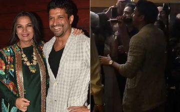 Javed Akhtar Birthday Bash: Son Farhan Akhtar Croons To Senorita Live On Dad's B'Day – WATCH VIDEO