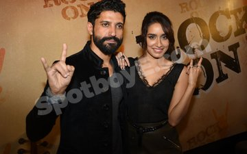 Arjun, Shraddha Rock At The Rock On 2!! Teaser