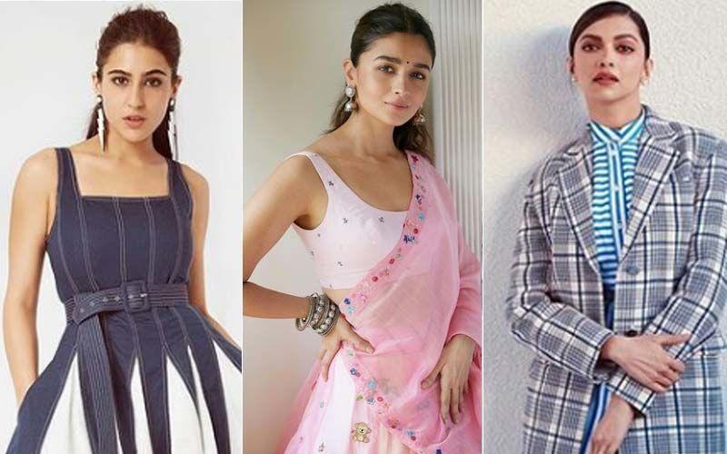 8 Hottest Looks Of 2020 Featuring DeepikaPadukone, Sara Ali Khan, Alia Bhatt, Kareena Kapoor Khan, Anushka Sharma And Others
