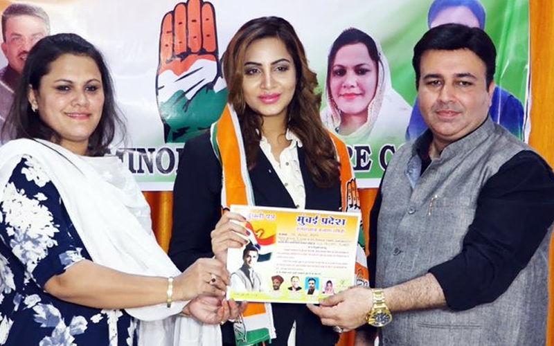 After Bigg Boss 11 Winner Shilpa Shinde, Arshi Khan Joins Congress