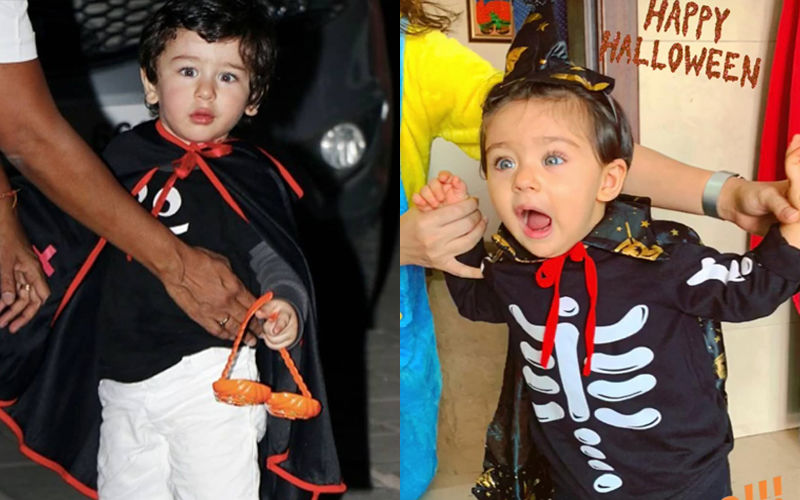 After Inaaya Dons A Ghost Look, Taimur Turns The Cutest Dracula - View Pic