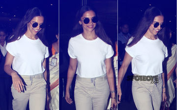 After Family Time In Bengaluru, Deepika Padukone Returns To City
