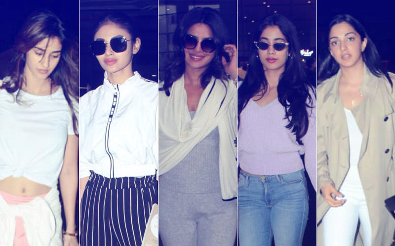 Disha Patani, Mouni Roy, Priyanka Chopra, Janhvi Kapoor & Kiara Advani Show You How To Travel In Style