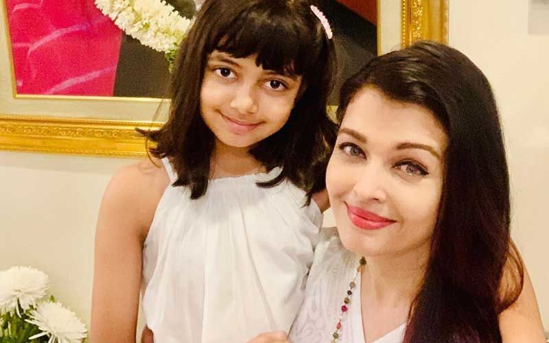 Abhishek Bachchan - Aishwarya Rai Bachchan's Darling Daughter Aaradhya's Adorable Video Taking Online Classes Hits The Internet