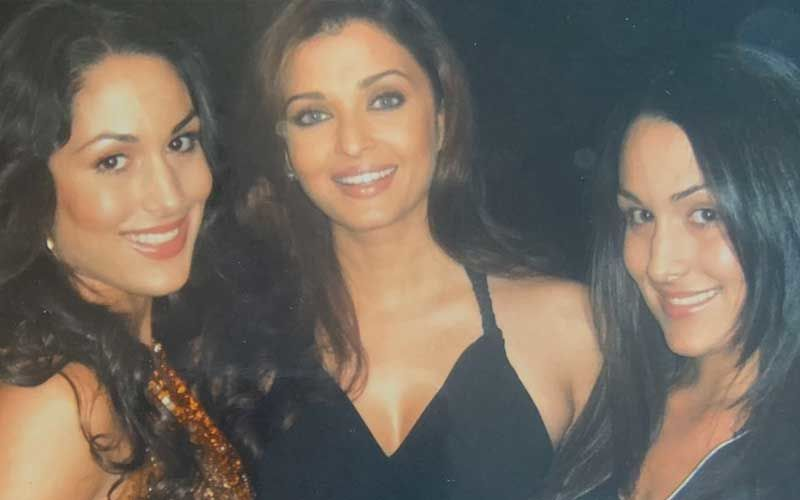 Preggers Nikki Bella Shares A Throwback Picture With Aishwarya Rai Bachchan; Calls It An 'Unforgettable Trip To Bollywood'