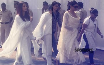 Sridevi Prayer Meet: Aishwarya Rai & Sushmita Sen Offer Condolences To The Kapoor Family