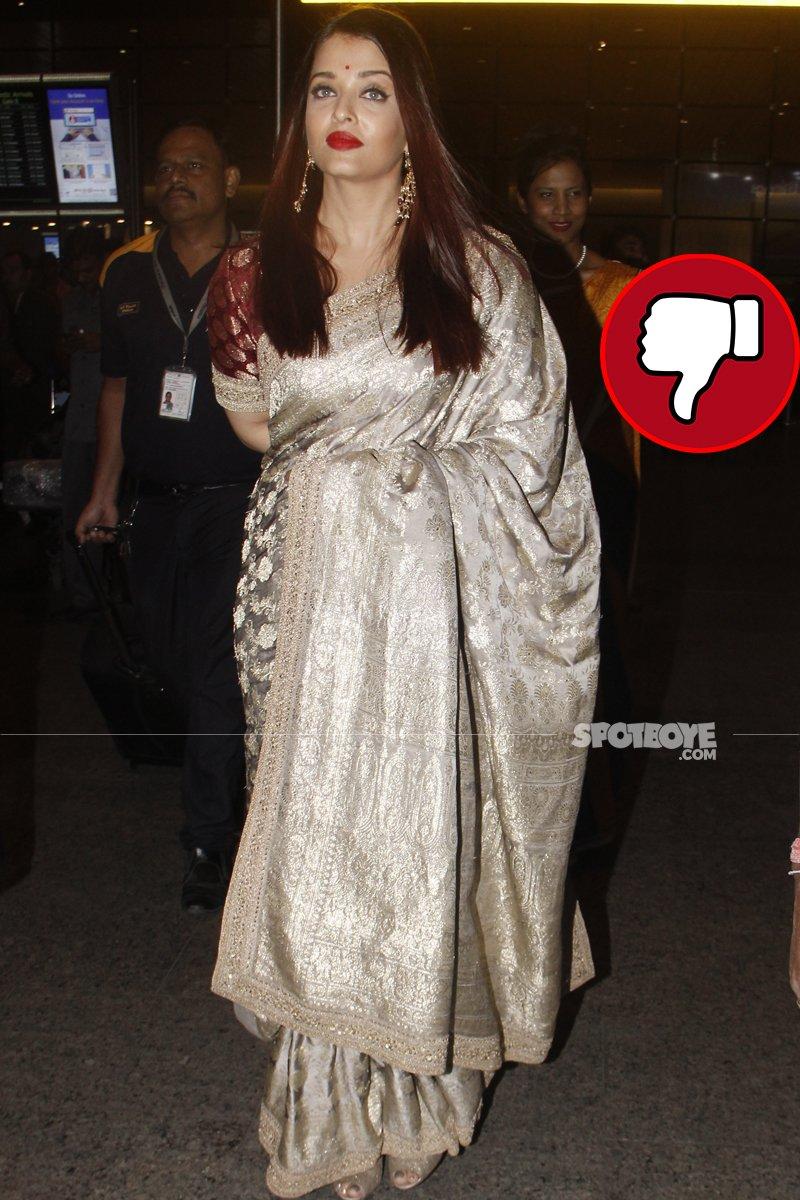 aishwarya rai at the airport