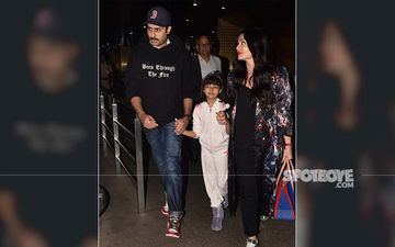 Aishwarya Rai Bachchan, Abhishek Bachchan And Aaradhya Are Back To The Bay After Celebrating The Actress' 46th Birthday In Rome