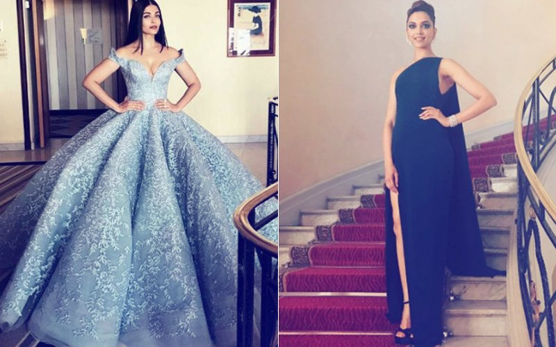 Cannes Film Festival 2017: Aishwarya Rai Bachchan Or Deepika Padukone- Who Nailed The Red Carpet Look?