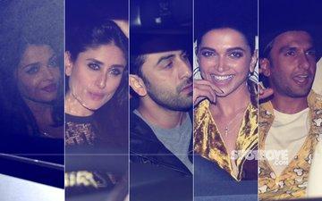 INSIDE PICS: Aishwarya, Hrithik, Kareena, Ranbir, Deepika, Ranveer PARTY HARD At Shah Rukh Khan's Mannat