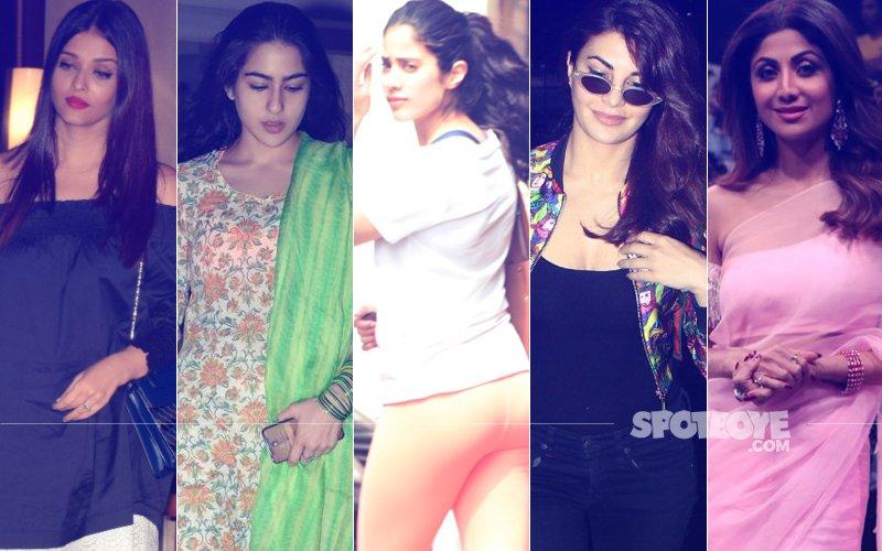 STUNNER OR BUMMER: Aishwarya Rai Bachchan, Sara Ali Khan, Janhvi Kapoor, Jacqueline Fernandez Or Shilpa Shetty?