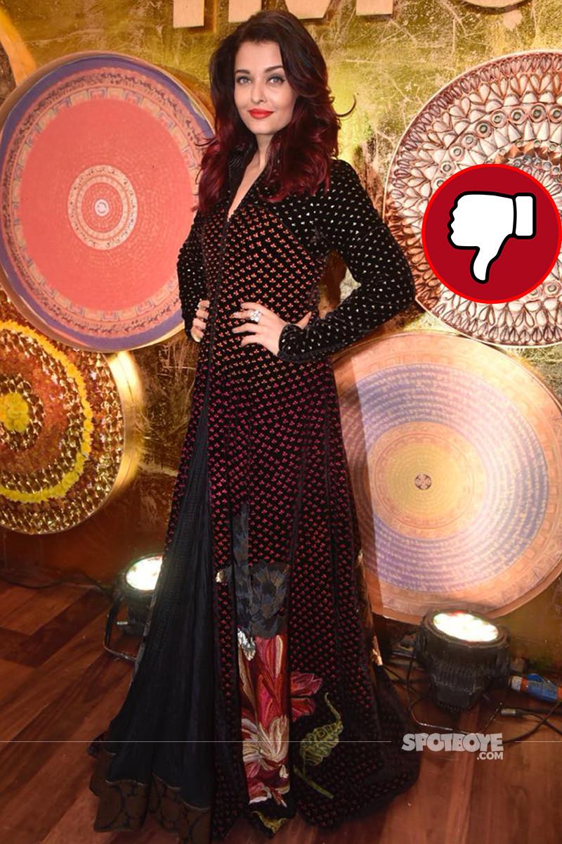 aishwarya rai bachchan snapped at an event