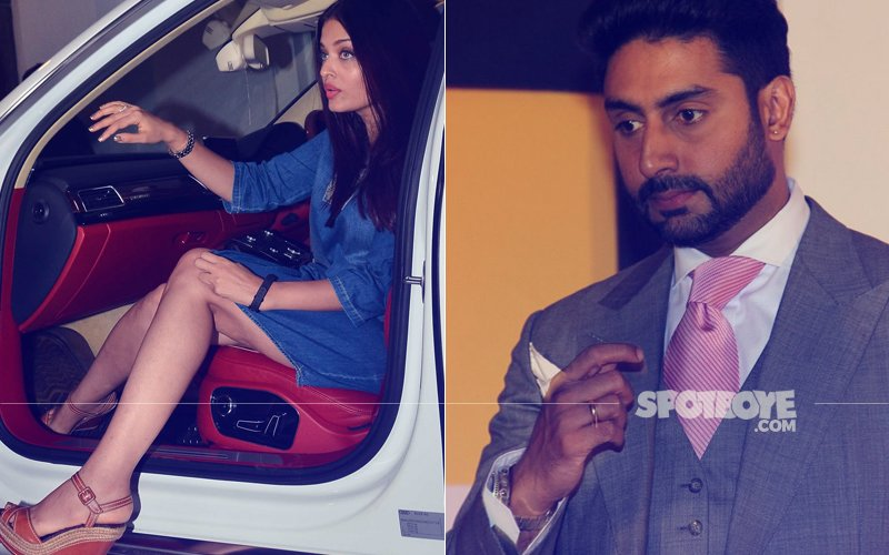 Aishwarya Rai Clicked AWKWARDLY, Abhishek Bachchan Asks Photographer To DELETE Pictures!