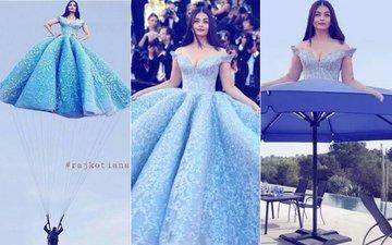 After Priyanka Chopra, Aishwarya Rai Bachchan's Cannes Dress Gives Way To Hilarious Memes