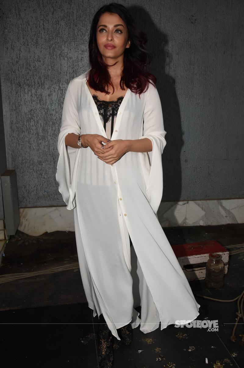 aishwarya rai promotes fanney khan in mumbai