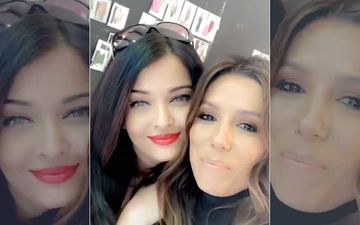 Aishwarya Rai Bachchan Reunites With Friend Eva Longoria; Eva Asks 'Why Do You Get More Beautiful' – WATCH VIDEO