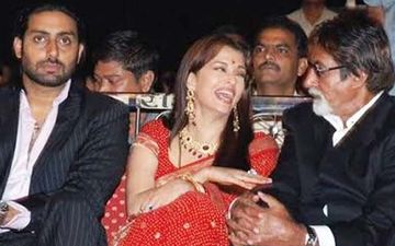 Aishwarya Rai Bachchan Laughing Hysterically At Amitabh Bachchan's Joke Is A Treat On A Dull Wednesday- TB Pics