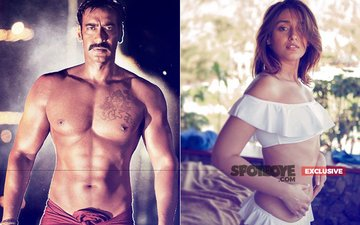 Ajay Devgn & Ileana D'Cruz To Make Passionate Love In Baadshaho