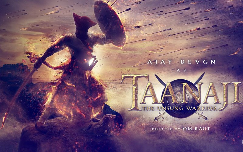 First Poster: Here's Ajay Devgn As Taanaji: The Unsung Warrior