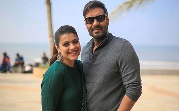 Kajol Asked Hubby Ajay Devgn For A Selfie And The Result Was THIS Picture, ROFL