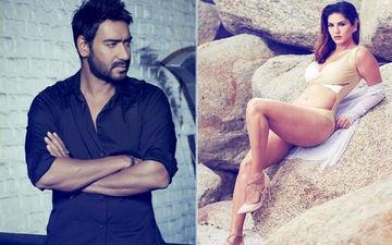 अजय देवगन के इस दमदार एड पर सनी लियोनी ने किया बेहद ही क्यूट डांस