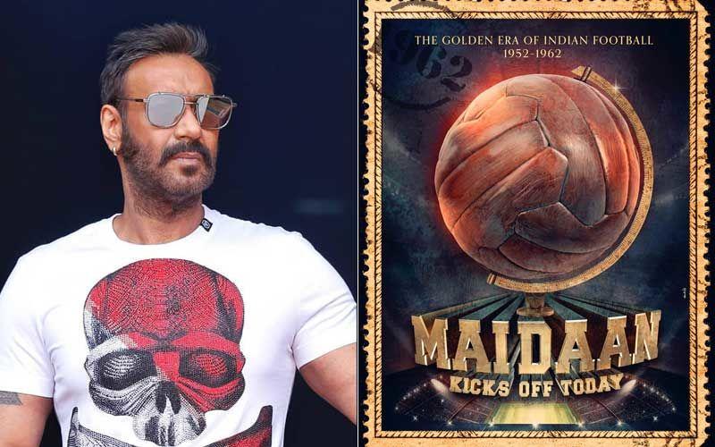 Maidaan Poster: Ajay Devgn's Sports Film Goes On Floors; Proud Arjun Kapoor Congratulates Dad, Boney Kapoor