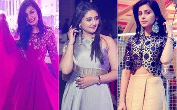 DANCE BABY DANCE! Rashami Desai, Divya Aggarwal & Shubha Rajput Break A Leg at TV Couple Abhishek Bajaj-Akanksha Jindal's Sangeet