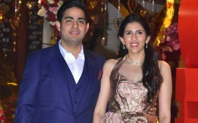 Akash Ambani's Wife Shloka Mehta Looks Trés Chic In A Fur Jacket And Holographic Pants; Her Picture Is Breaking The Internet