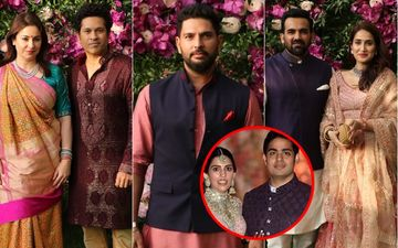 Akash Ambani-Shloka Mehta Wedding: Cricketers Sachin Tendulkar, Yuvraj Singh, Zaheer Khan Walk In To Wish The Couple