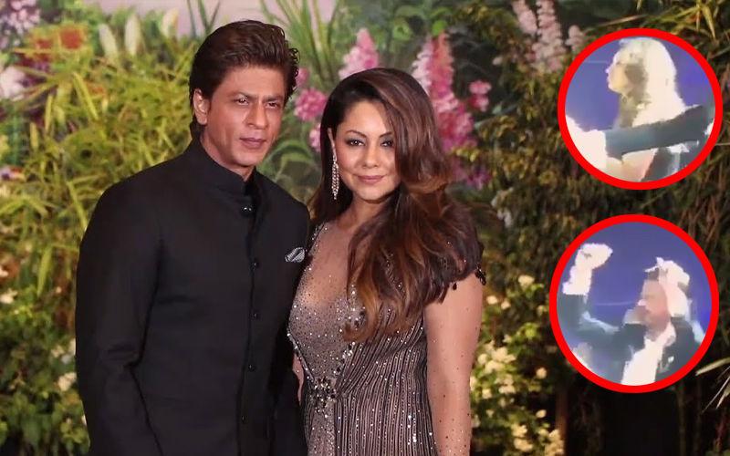 आकाश अंबानी और श्लोका मेहता के प्री-वेडिंग सेलिब्रेशन में पत्नी गौरी खान के साथ डांस करते दिखे शाहरुख़ खान, देखिए वीडियो