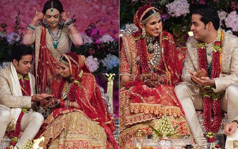 आकाश अंबानी और श्लोका मेहता की शादी की तस्वीरें आई सामने, बहुत ही खुबसूरत लग रहा है यह कपल