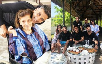 Akshay Kumar-Twinkle Khanna Take A Trip To Shilim To Celebrate Her Grandmother's 80th Birthday; Dimple Kapadia Joins Them Too-PICS