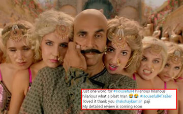 Housefull 4 Trailer Social Media Reactions: Akshay Kumar, Kriti Sanon, Riteish Deshmukh's Comic Rushes Get A Thumbs Up From Netizens