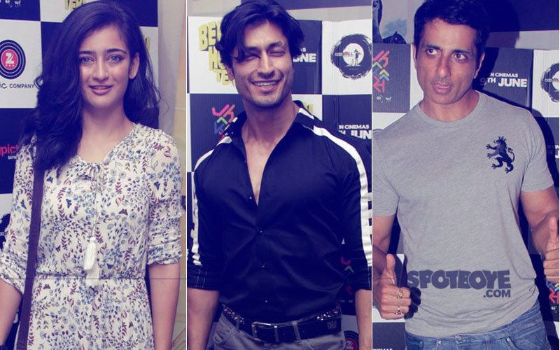 Akshara Haasan, Vidyut Jammwal, Sonu Sood And Co. Behen Hogi Teri's Special Screening