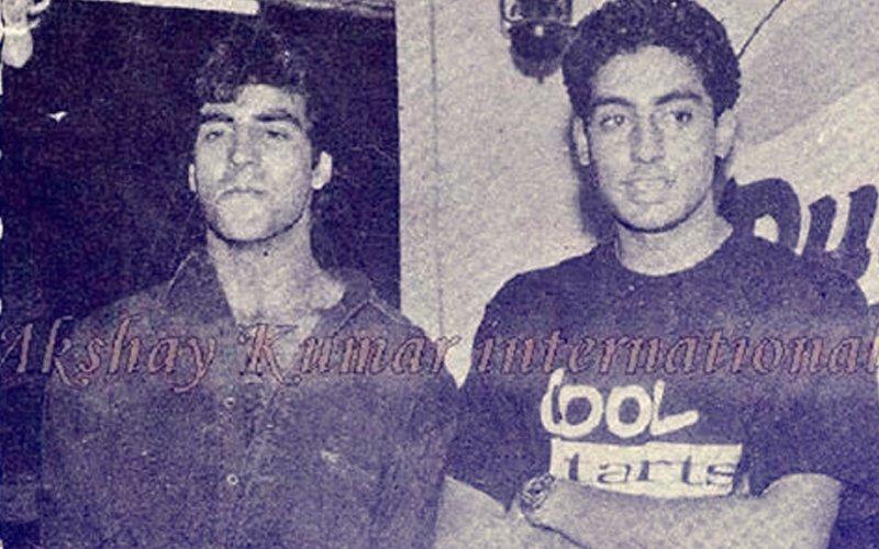 Here's What Happened When An 18-Year-Old Abhishek Bachchan Met Akshay Kumar